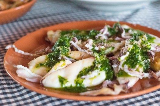 middag bläckfisk